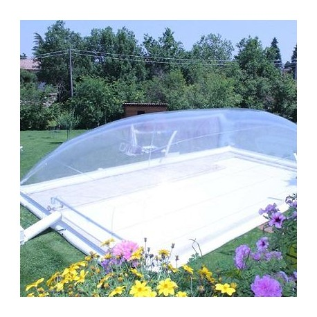Copertura gonfiabile per piscina cristalball solar - Poltrone gonfiabili per piscina ...