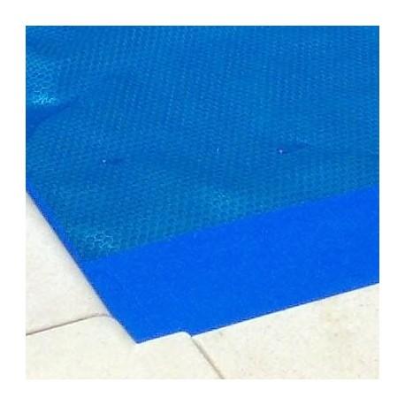 Bordatura delle testate coperture piscine
