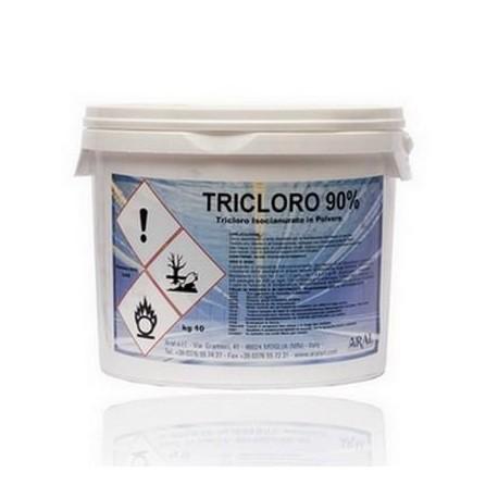 Tricloro granulare per piscine da 200 g al 90% per piscine