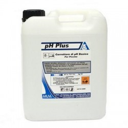 Regolatore pH+ Plus Incrementatore liquido per piscina