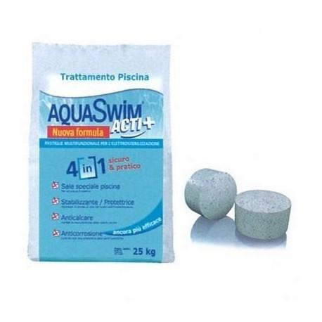 Trattamento multifunzione per elettrolisi AquaSwim Acti+ 25kg
