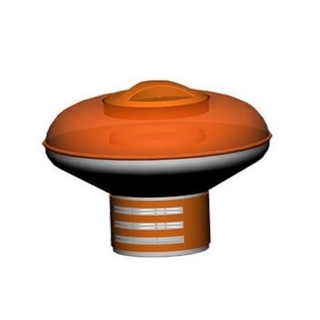 Dosatore di cloro galleggiante per piscine Linea Orange Style