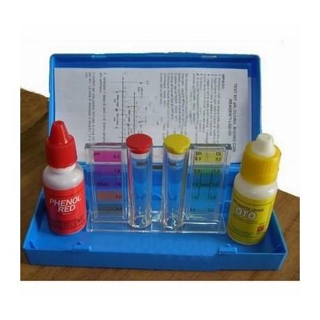 Test Kit liquido analisi cloro/pH per piscine