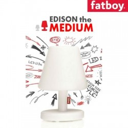 Edison the Medium Lampada a Led Ricaricabile FatBoy