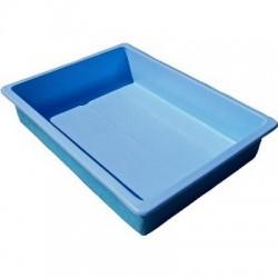 Vaschetta lava piedi per piscina 80x100x8 cm