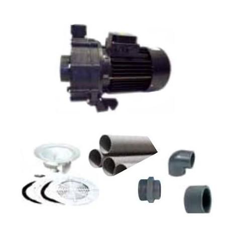 Kit per Completamento Impianti Cascate e Cannoni ad acqua per piscina