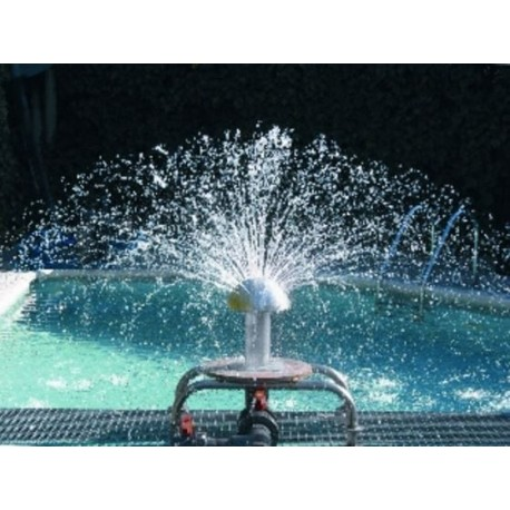 Fungo d'acqua per piscina Ø 250 mm