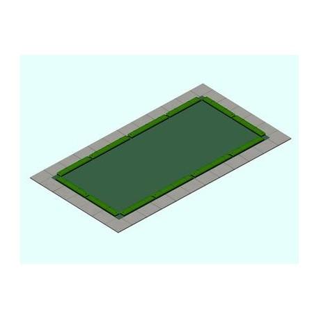 Copertura piscina WINCOVER DE LUX 320g Tubolari