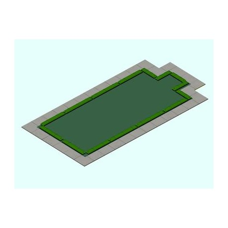 Copertura piscina tubolari 220 gr c/scala