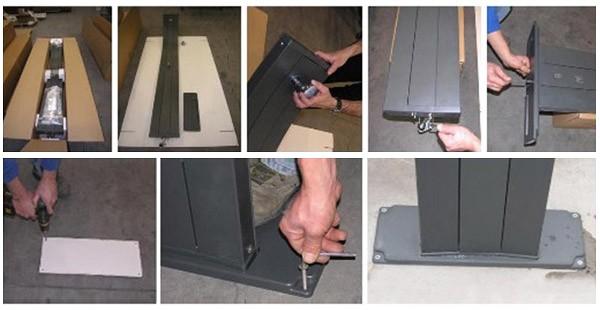doccia solare happy five schema montaggio installazione