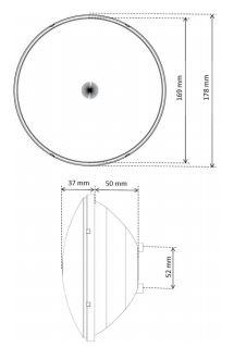 Caratteristiche lampada per piscina Seamaid PAR56 led rgb