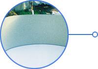 Struttura piscina interrata in acciaio zincato