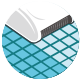 Robot pulitore Dolphin Moby PRO - Spazzolatura minuziosa