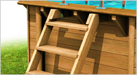 piscina fuori terra in legno Niagara 834 - Kit