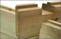 Piscina fuori terra in legno Weva Wood 1200 - Incastro