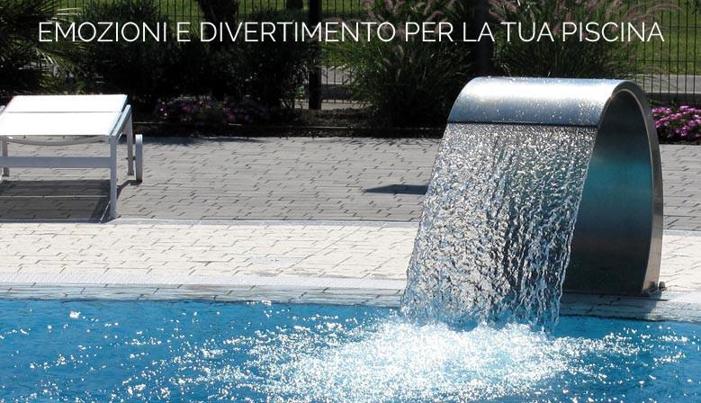 Emozioni e divertimento per la tua piscina