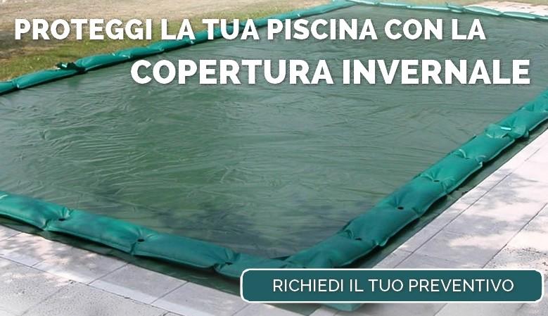 Proteggi la tua piscina con la copertura invernale