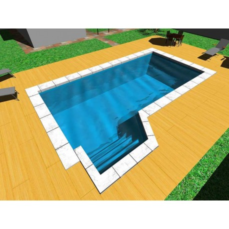 Piscina interrata Isoblok BEACHTIME