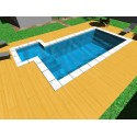 Piscina interrata Isoblok CARAIBI