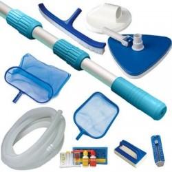 Kit 2 LUXE per pulizia piscina