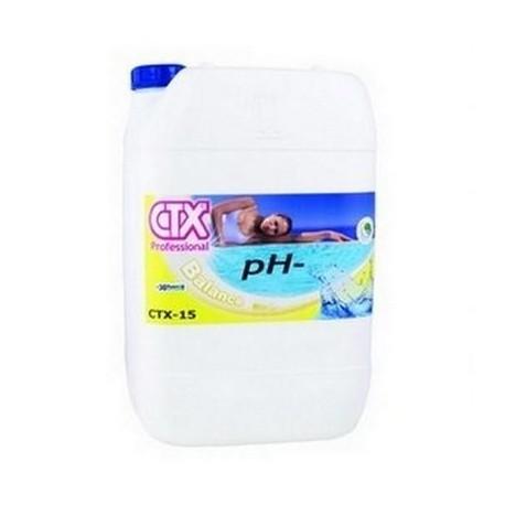 Regolatore pH- Minus Riduttore liquido per piscina