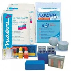 Kit Mix per trattamento acqua piscina per Impianto Elettrolisi del sale