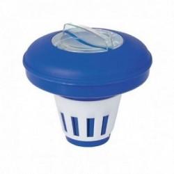 Dosatore di cloro galleggiante per piscine