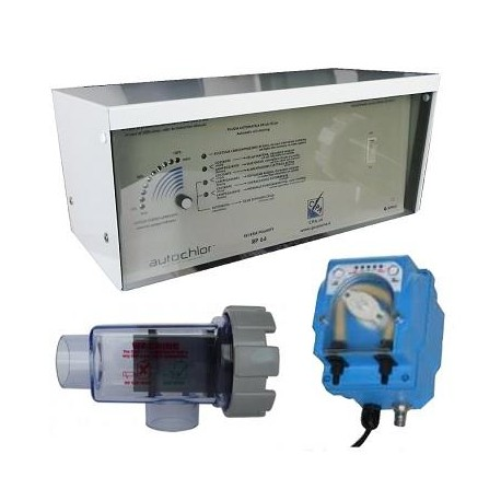 Sterilizzatore a sale Autochlor RP-pH 36 per Piscine fino a 170 m³