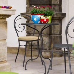 Tavolo da giardino Vermobil Rondò Grigio antico