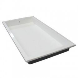 Vaschetta lava piedi per piscina 80x100x20 cm