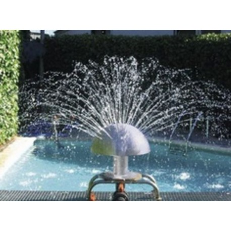 Fungo d'acqua per piscina Ø 400 mm