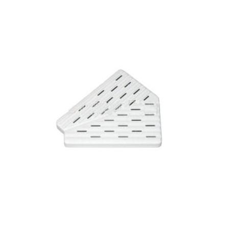 Placche ad angolo per griglia 45-22 bordo piscina