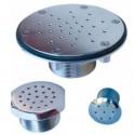 Bocchetta parete immissione idromassaggio inox AISI 316