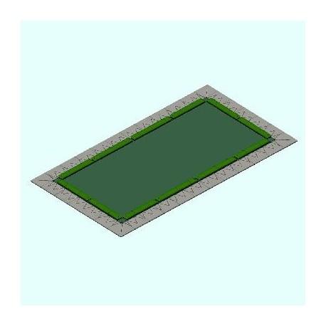 Copertura combinata WINCOVER DE LUX 320 gr per piscina